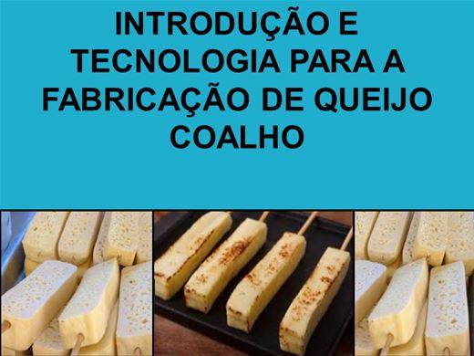 Curso Online de INTRODUÇÃO E TECNOLOGIA PARA A FABRICAÇÃO DE QUEIJO COALHO