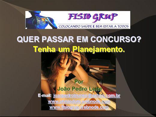Curso Online de QUER PASSAR NO CONCURSO PUBLICO?