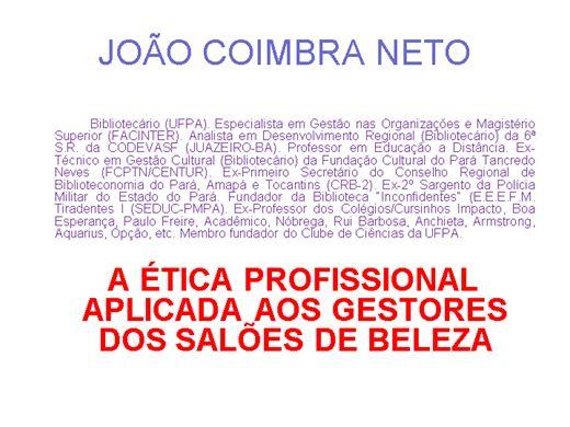 Curso Online de A ÉTICA PROFISSIONAL APLICADA AOS GESTORES DOS SALÕES DE BELEZA