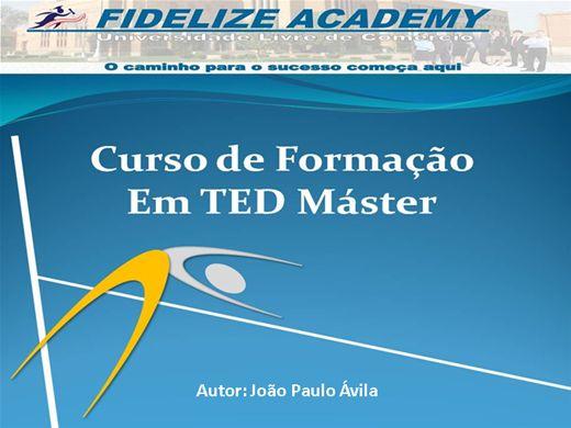 Curso Online de Formação em TED Máster