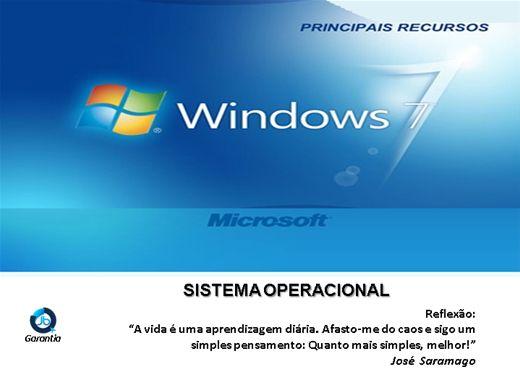 Curso Online de Windows 7 - Novos Recursos