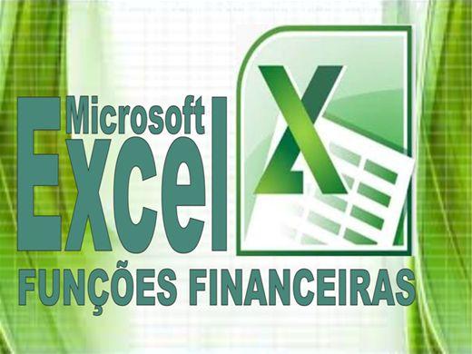 Curso Online de Funções Financeiras no Excel