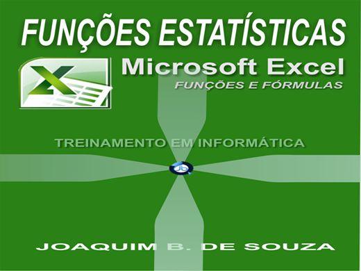 Curso Online de Funções Estatísticas no Excel