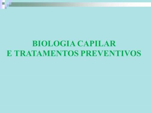 Curso Online de ANATOMIA E FISIOLOGIA CAPILAR