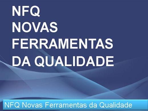 Curso Online de Novas Ferramentas da Qualidade NFQ
