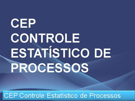 Curso Online de CEP Controle Estatístico de Processos