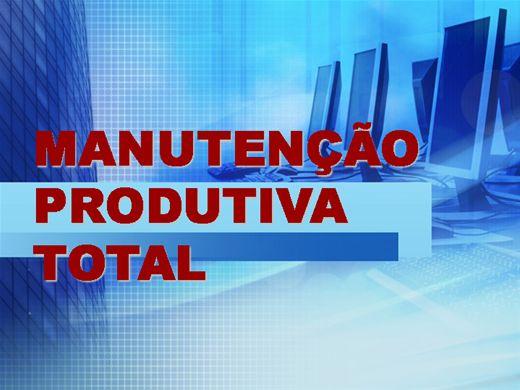 Curso Online de TPM MANUTENÇÃO PRODUTIVA TOTAL