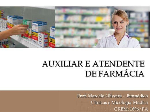 Curso Online de Auxiliar e Atendente de Farmácia