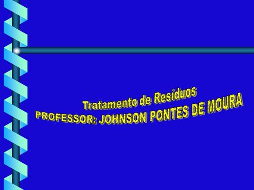 Curso Online de TRATAMENTO DE RESÍDUOS