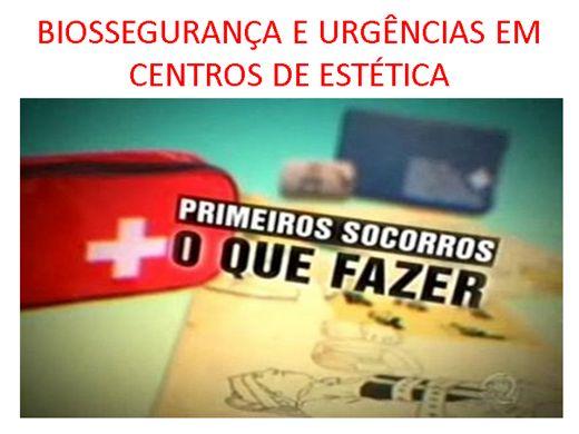 Curso Online de Biossegurança e Urgencias em clinica de Estética
