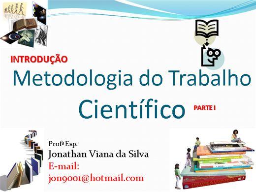 Curso Online de Introdução a Metodologia do Trabalho Científico
