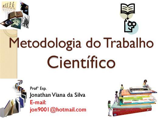 Curso Online de Metodologia do Trabalho Científico - parte 1