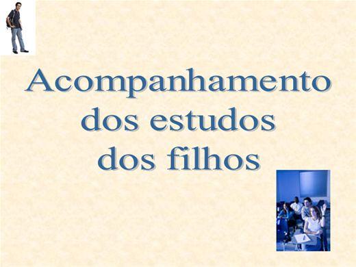 Curso Online de Acompanhamento dos estudos dos filhos