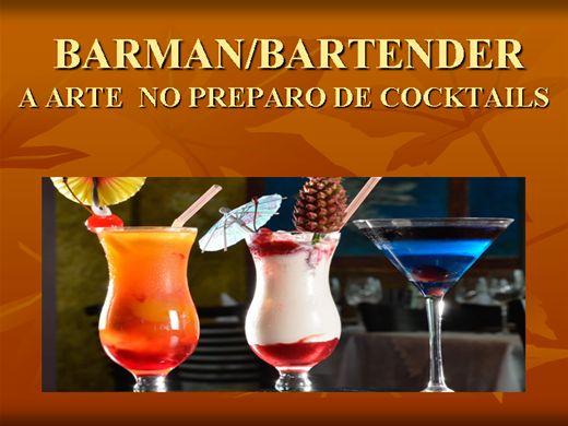 Curso Online de BARMAN / BARTENDER - A ARTE NO PREPARO DE COCKTAILS