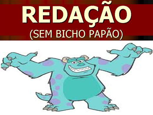 Curso Online de REDAÇÃO - SEM BICHO PAPÃO