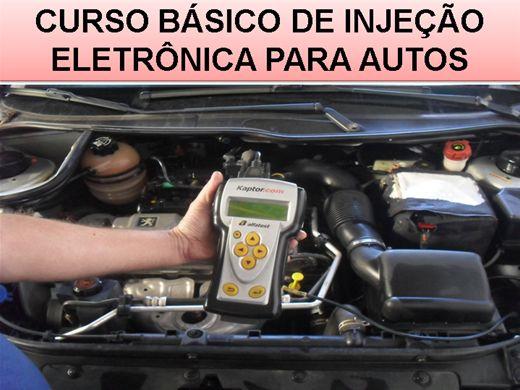 Curso Online de CURSO BÁSICO DE INJEÇÃO ELETRÔNICA PARA AUTOS