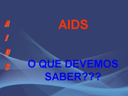 Curso Online de Síndrome da imunodeficiência adquirida (AIDS)