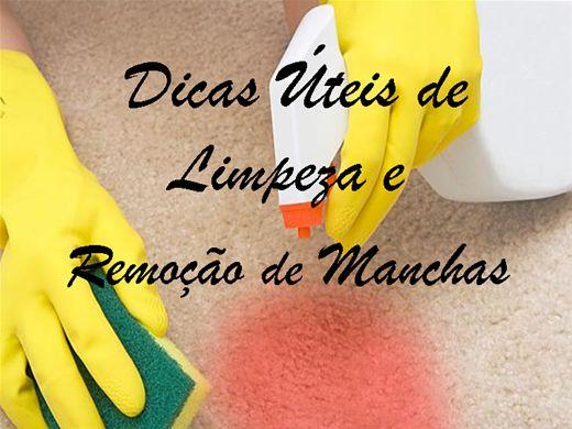 Curso Online de Dicas Úteis de Limpeza e Remoção de Manchas