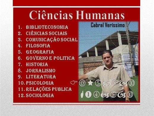Cursos de humanas