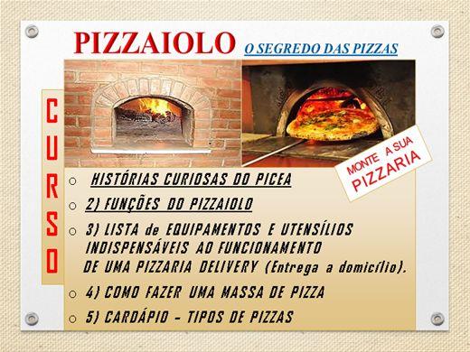 curso de pizzaiolo segredos das pizzas. Black Bedroom Furniture Sets. Home Design Ideas