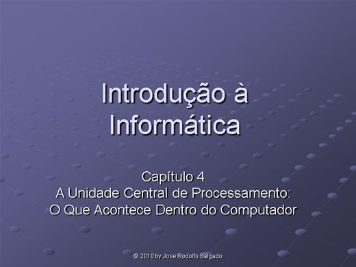 Curso Online de Informática basica 4º