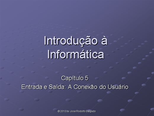 Curso Online de 5º Aula de informatica Basica