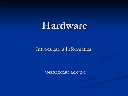 Curso Online de Hardware