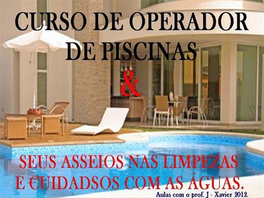 Curso Online de OPERADOR DE PISCINAS, SEUS ASSEIOS E CUIDADOS COM AS ÁGUAS. 2012.