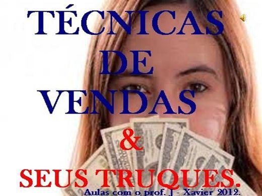 Curso Online de TÉCNICAS DE VENDAS E SEUS TRUQUES COM O PROF. J - XAVIER 2012..