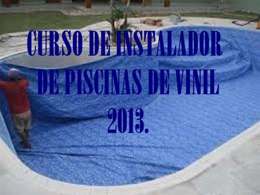 Curso Online de INSTALADOR DE PISCINAS DE VINIL.