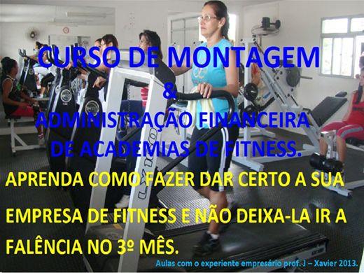 Curso Online de MONTAGEM E ADMINISTRAÇÃO DE ACADEMIAS DE FITNESS.