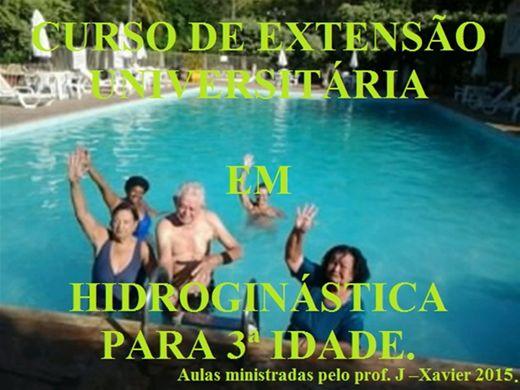 Curso Online de EXTENSÃO UNIVERSITÁRIA EM HIDROGINÁSTICA PARA 3ª IDADE. 2015.