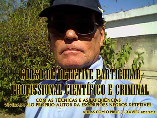 Curso Online de DETETIVE CIENTÍFICO E CRIMINAL