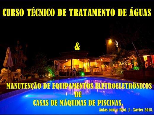 Curso Online de TRATAMENTO DE ÁGUAS E MANUTENÇÃO DE EQUIPAMENTOS ELETROELETRÔNICOS DE PISCINAS.