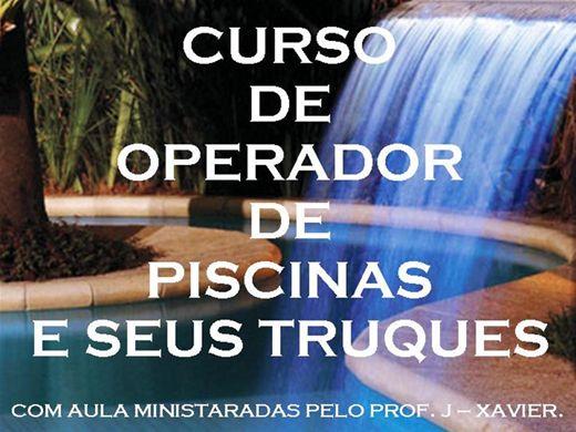Curso Online de OPERADOR DE PISCINAS E SEUS TRUQUES.