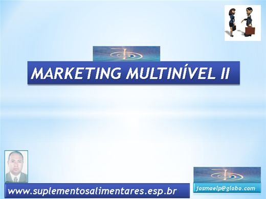 Curso Online de Marketing Multinível II