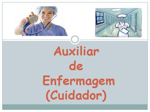 Curso Online de Auxiliar de Enfermagem