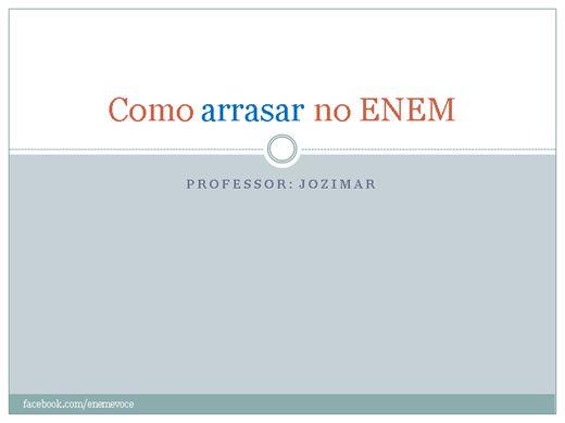 Curso Online de Como arrasar no ENEM