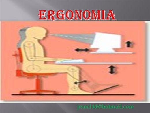 Curso Online de Introdução a ERGONOMIA