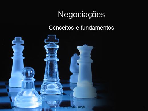 Curso Online de Negociação