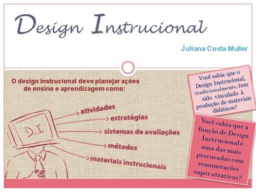 Curso Online de Design Instrucional