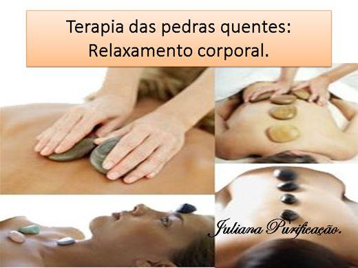 Curso Online de terapia das pedras quentes-relaxamento corporal