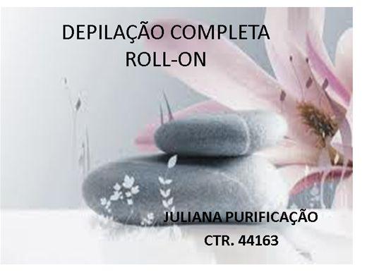 Curso Online de depilação completa roll-on