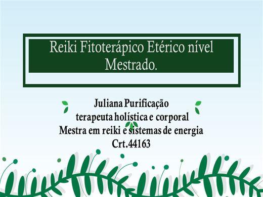 Curso Online de Reiki Fitoterápico Etérico Nivel Mestrado.