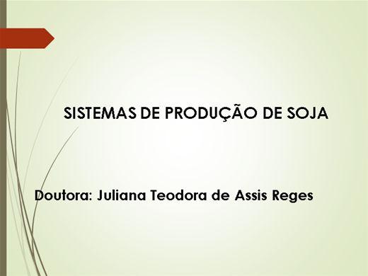 Curso Online de SISTEMAS DE PRODUÇÃO DE SOJA