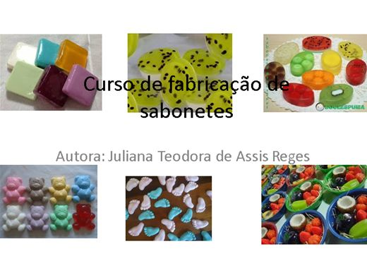 Curso Online de Curso de fabricação de sabonetes
