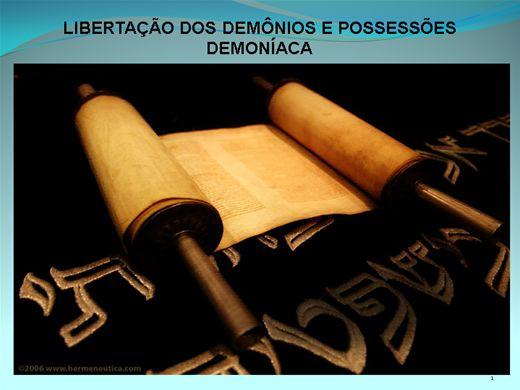 Curso Online de Libertação dos Demônios e Possessões Demoníacas
