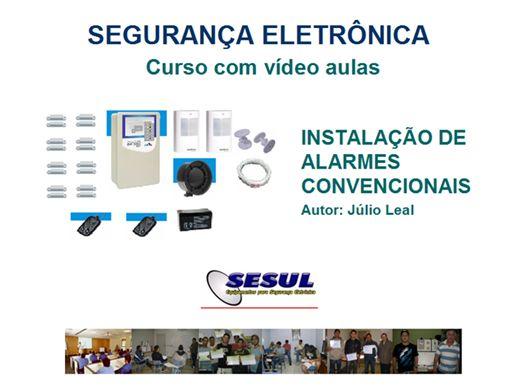 Curso Online de Instalação de Alarmes com vídeo aulas