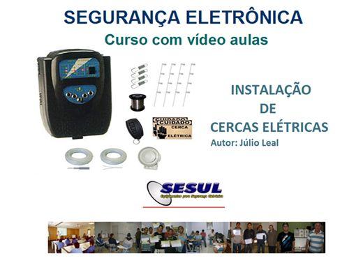 Curso Online de Instalação de Cerca Elétrica com video aulas