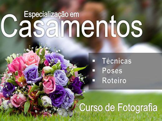 Curso Online de Fotografia Especialização em Casamentos